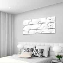 도트 3P 자작나무 액자 벽시계 CHR-3601