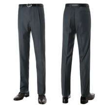 [파파브로]남성 기본 원턱 양복 정장 바지 LO-A9-981-진그레이