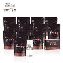 [행복한농장] 볶은우엉차진 12봉 + 볶은우엉차진티백 1박스 + 추가증정:더 보틀(블랙)