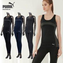 [푸마바디웨어] 여성 심리스 스포츠 언더웨어 색상 택일