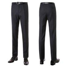 [파파브로]남성 클래식 원턱 양복 정장 바지 LO-A9-231-차콜