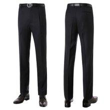 [파파브로]남성 패턴 원턱 양복 정장 바지 LO-A9-233-블랙