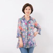 마담4060 엄마옷 여름내내텐셀셔츠 QBL906080