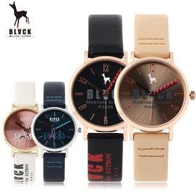 [블랙마틴싯봉] 405 Black logo watches (BKL1514L_GAVD405)
