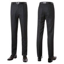 [파파브로]남성 패턴 원턱 양복 정장 바지 LO-A9-237-차콜