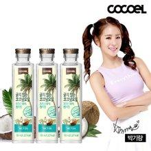 코코엘 굳지않는 MCT 코코넛 오일 150ml 3병