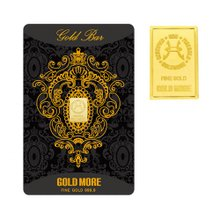 [골드모아]순금 골드바 카드 1.0g 99.99% [ 신형블랙 ]