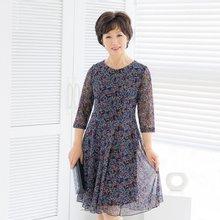 마담4060 엄마옷 꽃송이레이스원피스-ZOP004012-