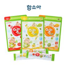 [함소아]짜먹는 하마쭈 다래 3종세트 (10gx10포x3가지맛)