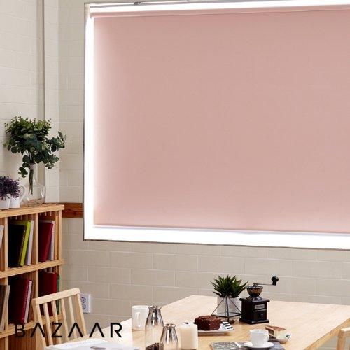 [바자르] 무지 양면암막 방염 블라인드 맞춤제작 상품