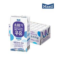 [매일유업] 소화가 잘되는 우유 190mlX24팩