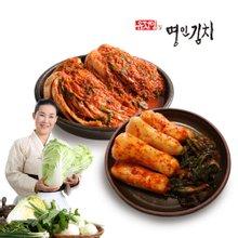 [식품명인 유정임의 명인김치] 포기김치 5kg+알타리김치 2kg