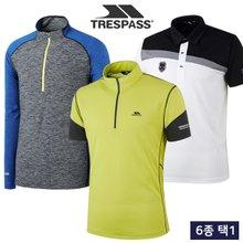 [트레스패스] 여름 UV차단 COOL 남녀 반팔 티셔츠/집업 자켓 균일가 15종 택1/골프웨어_245252