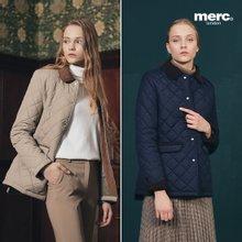 [머크/merc] 여성 브리티시 퀼팅 패딩 재킷 1종