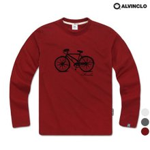 [앨빈클로] 깔끔한 자전거 긴팔티 AVT_201 남자 여자 단체 커플룩