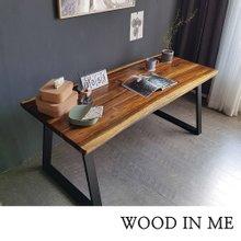 우드인미 장미목 4인용 원목식탁 테이블1600-ap/로즈우드/호피목/원목책상/식탁테이블