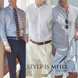 [엠필] 남성 린넨셔츠 3종세트 (95~115사이즈)