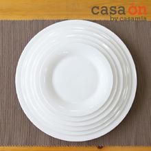 [까사미아까사온]더본화이트마인 접시 크기별 6종세트