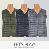 [마운틴가이드]겨울용 등산복/단체복/베스트/남성 패딩 등산조끼 LAM-B7452