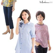 마담4060 엄마옷 가정의달 맞이 블라우스/티셔츠/팬츠/민소매 10종 특가!