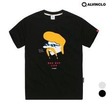 [앨빈클로]AST-3506 배드보이 오버핏 티셔츠