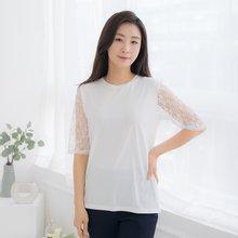 마담4060 엄마옷 심플레이스티셔츠-ZTE005023-