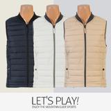 [마운틴가이드]가을,겨울용 등산복/단체복/베스트/남성 패딩 등산조끼 DPM-B7450