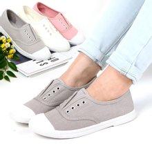 [아란슈] SL404 여성 밴딩 슬립온 단화 로퍼 스니커즈 신발