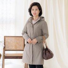 마담4060 엄마옷 베이직바바리점퍼 ZJP001012