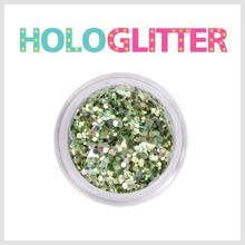[ALICA 엘리카] 홀로글리터 믹스매치Ⅱ 올리브 -H219-