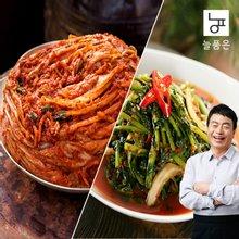 [늘품은] 포기김치5Kg+열무물김치3kg (김하진이 추천한 김치)