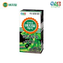 [정식품] 담백한 베지밀A 검은콩 두유 190ml × 64팩