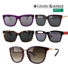 [공식수입][한정수량] 에이글  컬럼비아 베네통 [12종택1] 명품 선글라스