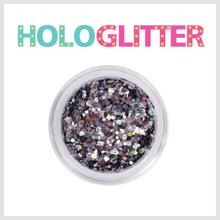 [ALICA 엘리카] 홀로글리터 믹스매치Ⅱ 미러블랙 -H218-