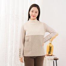마담4060 엄마옷 포켓포인트티셔츠-ZTE912146-