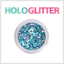 [ALICA 엘리카] 홀로글리터 믹스매치Ⅱ 아쿠아블루 -H216-