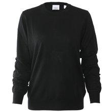 [버버리]19FW 8017019 A1189 여성 빈티지 체크 메리노 울 스웨터 블랙