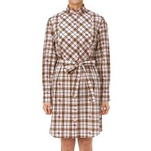 [버버리] 이퀘스트리안 나이트 체크 CAKTUS 8008140 A6257 여자 셔츠 원피스