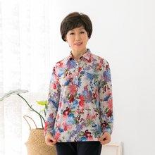 마담4060 엄마옷 꽃마중티셔츠 QTE902030