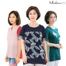 마담4060 엄마옷 여름 티셔츠,블라우스 10종 특가!