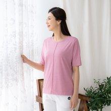 마담4060 엄마옷 데일리핀턱티셔츠-ZTE005059-