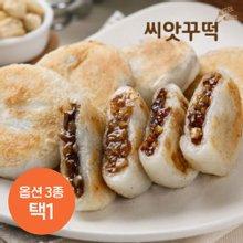 [씨앗꾸떡] 부산씨앗호떡 5개입x12세트 (해바라기6세트+땅콩6세트)