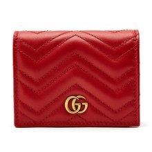 [구찌] GG 마몬트 마틀라세 466492 DRW1T 6433 여자 명함/카드지갑