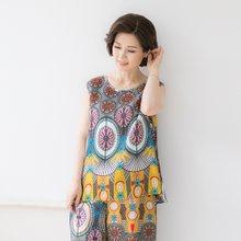 마담4060 엄마옷 인견플레어민소매세트 QASET903002