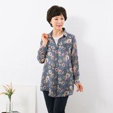 마담4060 엄마옷 꽃바람롤업셔츠 QBL907033