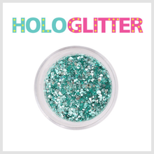 [ALICA 엘리카] 홀로글리터 믹스매치Ⅰ 민트블루 -H211-