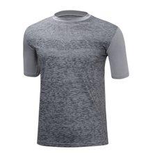 [파파브로]남성 기능성 쿨링 스판 라운드 반팔 티셔츠 MB-HMCC-RR-그레이
