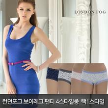 [런던포그]여성 보이레그 레이스팬티4스타일 중 택1 스타일