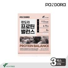 [뉴트리] 판도라 프로틴밸런스 머쉬룸 3박스 (45일) / 콜라겐스프