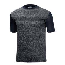 [파파브로]남성 기능성 쿨링 스판 라운드 반팔 티셔츠 MB-HMCC-RR-차콜